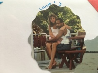 Early married days ... those legs!