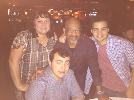 Night out with the fam