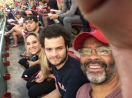 Bren, Ry, Christa & me at Fenway