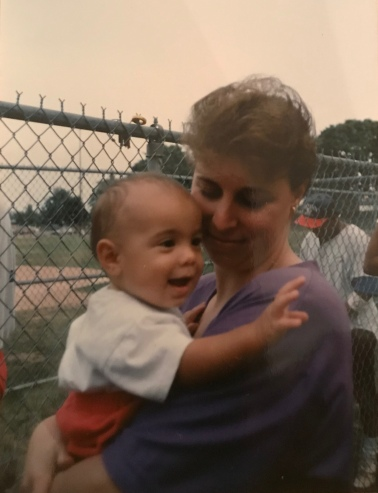 Bren & Mom Summer '93