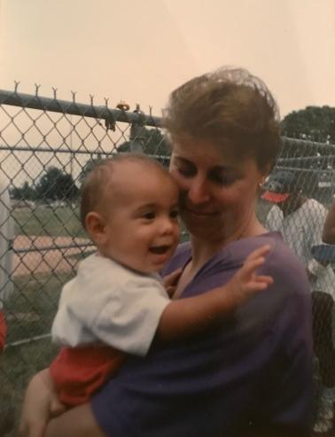 Bren & Mom Summer '93