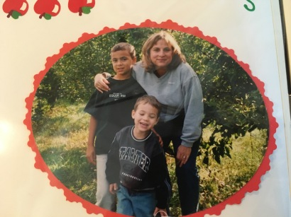 ~2002 ... Apple picking in Upstate NY