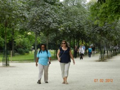 Paris 2012 w/ my sister Pam