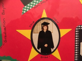 Graduation from Baylor - 1987