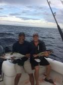 Billy & I with black fin tuna
