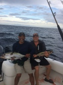Billy & I with black fin tuna